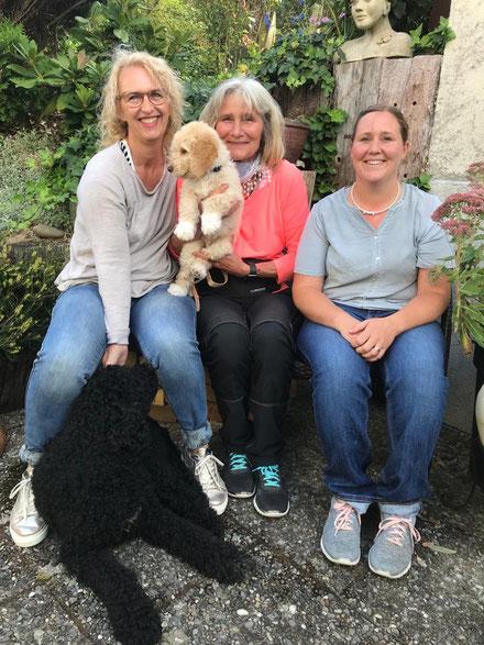 KAI mit Gaby, Jessica und Sylvie