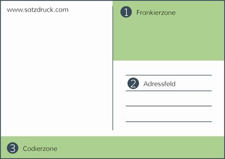 Satzvorschriften für den korrekten Versand von Postkarten in Deutschland