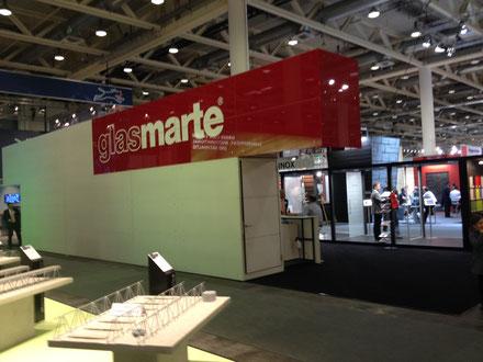 Glas Marte auf der Swissbau 2014 Basel