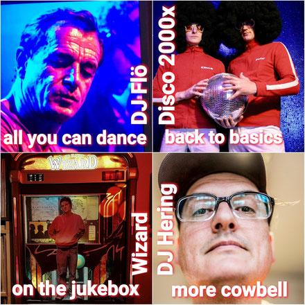 dj flö all you can dance disco 2000x dj hering more cowbell morecowbell