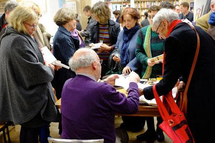 rencontre avec l'auteur à la librairie L'Arbre à lettres, vendredi 15 novembre 2013