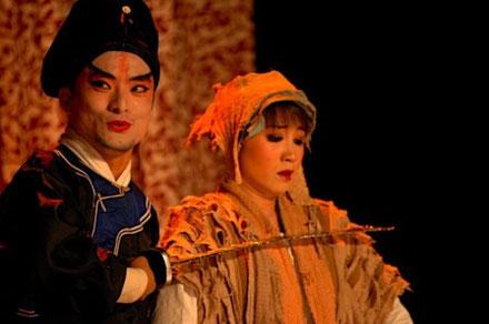 Masques Commedia dell'Arte Opera de Pékin