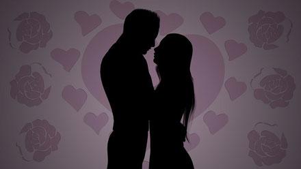 BILD: Brautpaar der Liebe