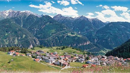 Die Ortschaft Serfaus