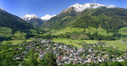 Das Dorf Mittersill