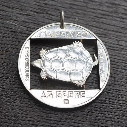 Münzsägewerk Katrin Thull | Ungarn - Schildkröte