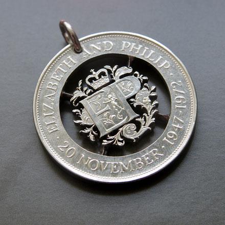 Münzsägewerk Katrin Thull | Großbritannien - Crown Emblem