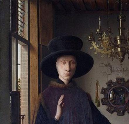 Портрет четы Арнольфини - описание