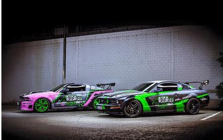 GeeGee DriftTeam, Mustang drift, USA drift, driftpony, driftcup, driftreifen, pro-reifen