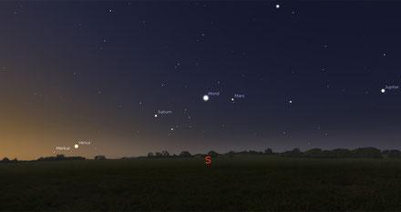 Nachtrag: Februar2016 - Quelle: http://www.wissen.de/sternenhimmel-im-februar