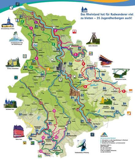 LInk: PDF-Broschüre Radwandern im Rheinland