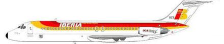 Viele Jahre bei Iberia bewährt - die DC-9/Courtesy: MD-80.com