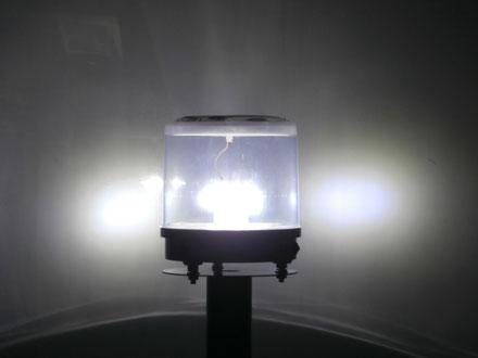 太陽電池一体型 アンゼンマンBIG4 センサーライト 夜