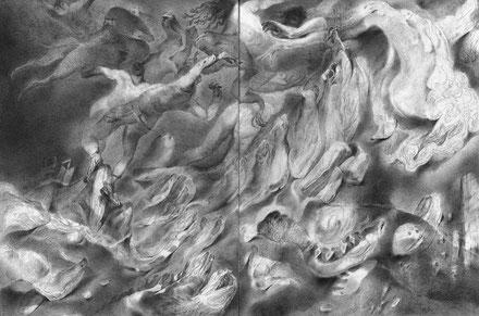 Matthias-Wyss-TAGESLICHT-DAYLIGHT-2011–2014-Pencil-On-Paper-22-x-44-Cm-7