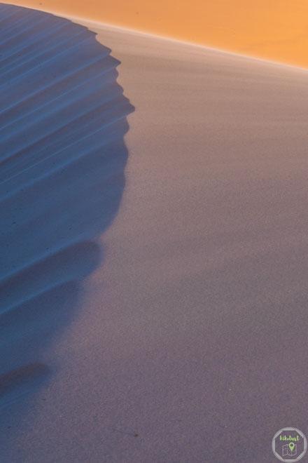 Sonnenuntergang an den Coral Pink Sand Dunes