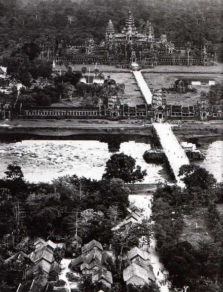 Angkor Wat, año 1912.
