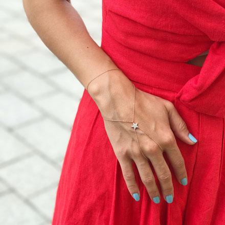 Sueños Jewellery 925 Silberschmuck Handkettchen Shamaran