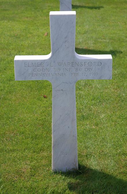 Tombe d'Elmer - Elmer's grave - FindaGrave.com