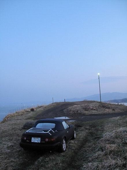 4:26  この日、早朝、現場は3℃まで気温が下がった