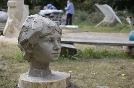Nikoloz Meliva Portrait eines Kindes
