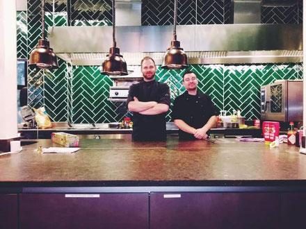 Luis Diner Küchen-Team