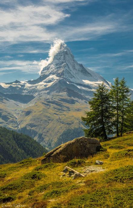 Matterhorn mit Bannerwolke