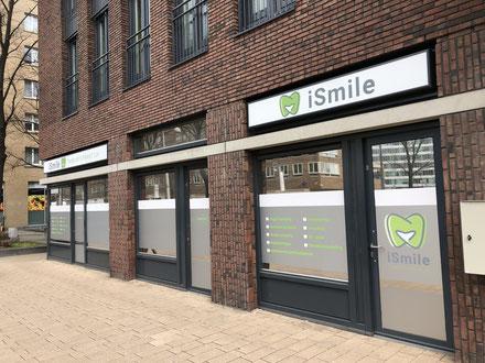 Ligging tandartspraktijk iSmile Amsterdam-West Hoofdweg