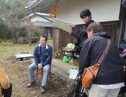 1月12日放映「ニッポンぶらり鉄道旅」の撮影風景