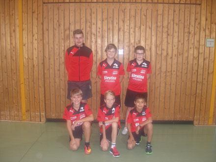 Hinten: Schneider, KimLeon - Burhenne, Paul - Euler, Ben Vorne: Osterod, Marlon - Hohmann, Florian - Hau, Andres