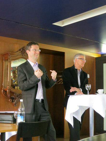 Peter&Paul: Sessionsrückblick mit Paul Niederberger und Peter Keller. März 2013