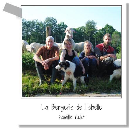 La Bergerie de l'Isbelle - Famille Culot