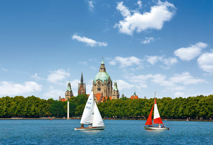 Hannover top things to do - Maschsee - Copyright Hannover.de