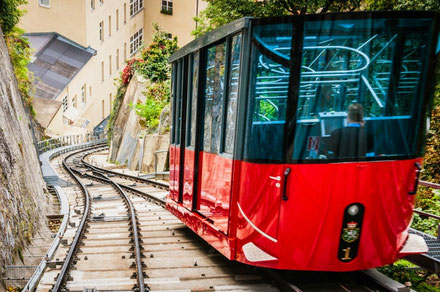 Graz top things to do - Schlossbergbahn - Copyright Marion Wacker