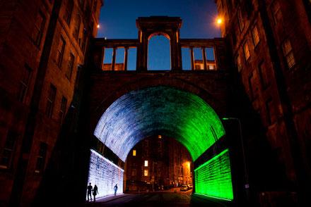 Art Festival Callum Innes, The regent Bridge