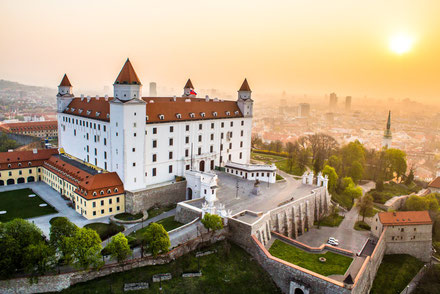 Bratislava top things to do - View from the Castle - ©VisitBratislava