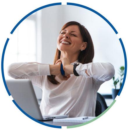 Gesunde und zufriedene Mitarbeiter mit betrieblicher Gesundheitsförderung