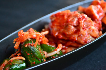 Korea's representative pickle,  kimchi