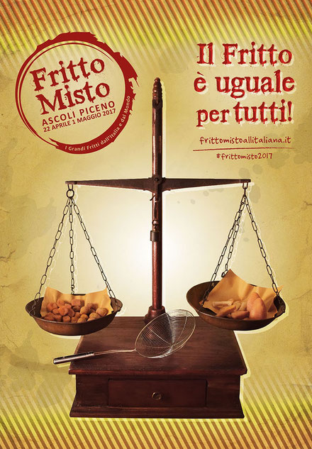 """Ad Ascoli Piceno torna """"Fritto Misto"""": la kermesse gastronomica  si svolgerà dal 22 aprile al 1 maggio, in Piazza Arringo, nel cuore del bellissimo centro storico di Ascoli"""
