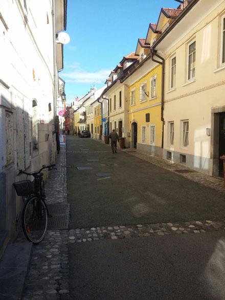 Kranj, Altstadtgasse
