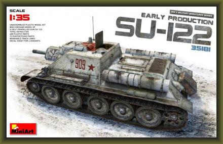 MiniArt 35181 SU-122 frühe Produktion 1:35