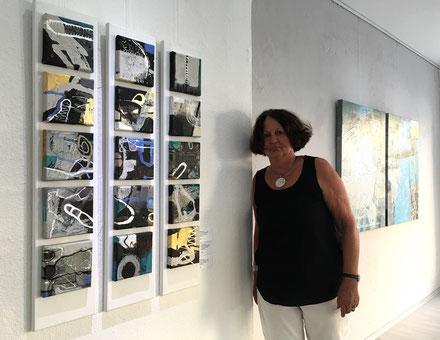 """""""im Blick""""  Ausstellung Elsbeth Lang, Juli 2019,  GEDOK Galerie, GEDOK Heidelberg"""