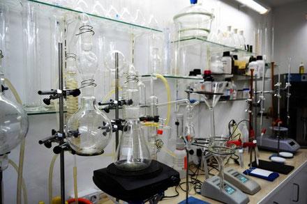 laboratorio enológico en Valdepeñas