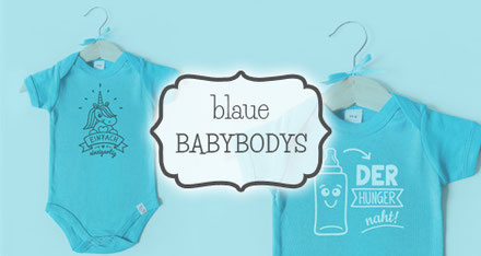 Babybodys blau - nähfein