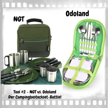 Campingbesteckset von NGT und Odoland