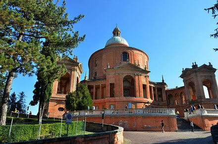 Sanctuary of the Madonna di San Luca Bologna Italy private city tour