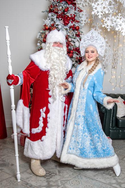 заказ и вызов деда мороза и снегурочки на дом офис в москве
