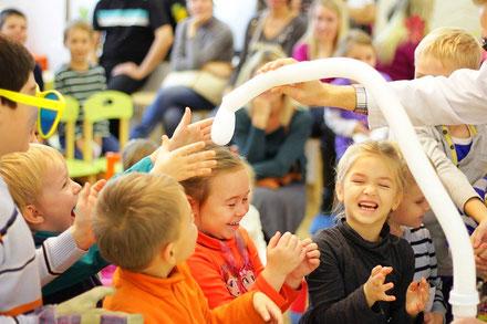 научное шоу на дом детский сад  школу