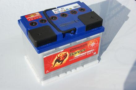 Banner 12 Volt Bootsbatterie 95501