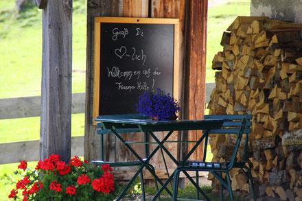 Herzlich willkommen auf der Füssener Hütte