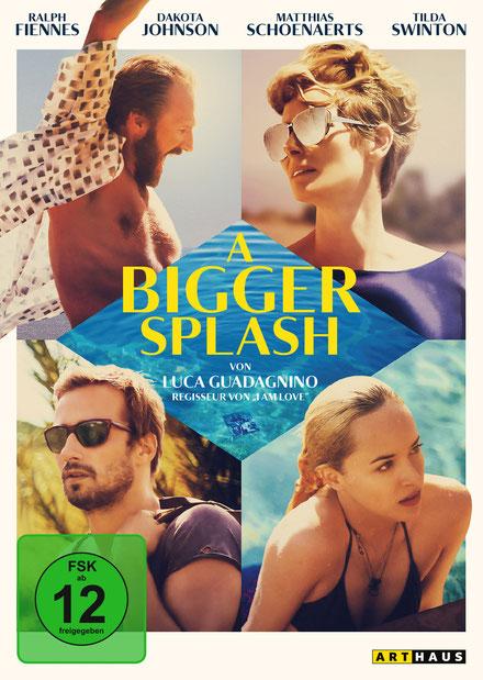A Bigger Splash DVD - ArtHaus Studiocanal - kulturmaterial
